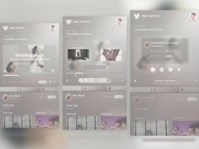 Daily UI - Social share
