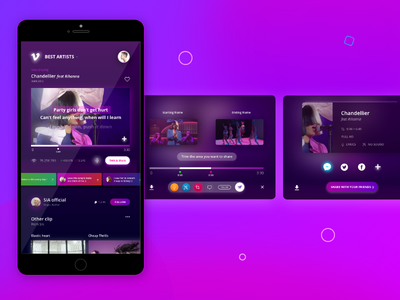Daily UI - Social share