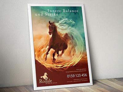 Roijale Poster soul horse riding