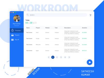 Workroom_Web App