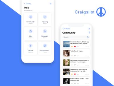 Craigslist - iOS App