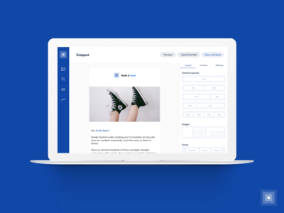 Build and  Send Newsletters