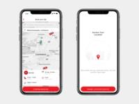 RedTaxi - Mobile full UI/UX