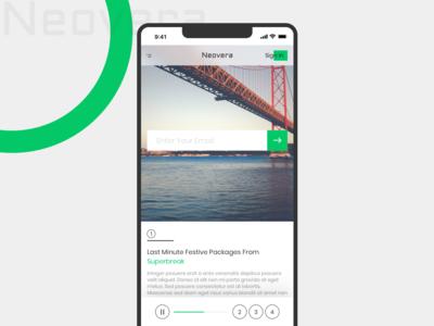 Neover Mobile UI concept