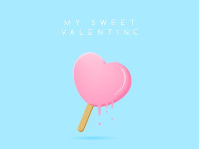 Heart Shaped Popsicle