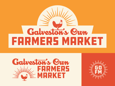 GOFM Logo branding logo sun farmers market