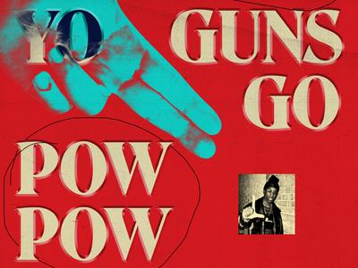 Big L gun finger oldschool nyc rap big l poster hiphop