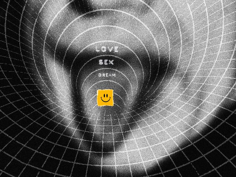 LSD smiley face physics wormhole blackhole albert einstein dream sex love