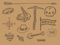 The Dig doodles