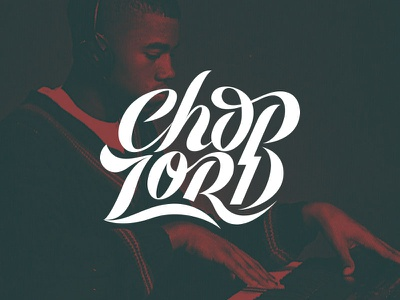 Choplord beat music yeezy kanye west type hand lettering custom lettering lettering typography lord chop