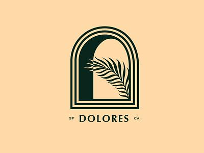 Dolores mission badge palm sf san francisco dolo dolores