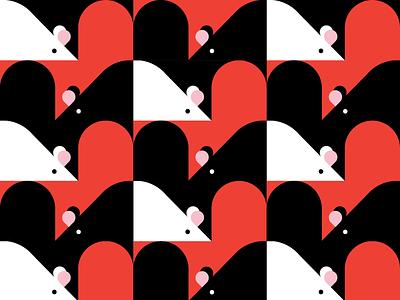 Year of the Rat geometric pattern pattern rat 2020
