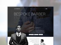 Samuel Dawson - Website Concept