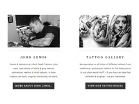 Life & Death Tattoos - Website - Element