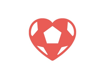 Heart4More Foundation - Logo Concept logo mark icon wip heart love football branding identity