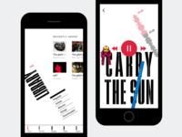 Apple Music Redesign concept