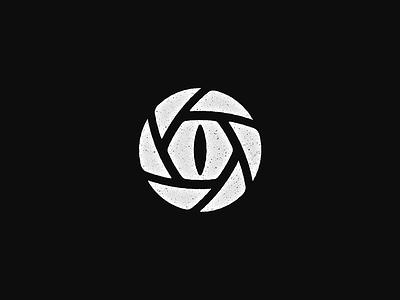 Wildlife photography mark black and white wildlife photography mark negative-space logo