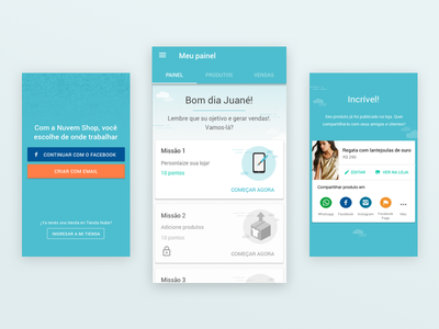 Onboarding Android ux/ui ui ux android