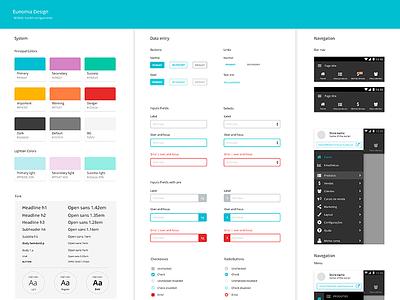 Eunomia Toolkit mobile brand toolkit ux ui
