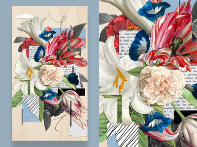 The art of collage textures flowers valentin nouvel niu digitalcollage digitalart collage digital collage collage art mix media