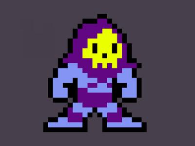 8-bit Skeletor