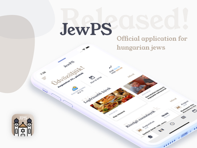 JewPS! An application for Jews in Budapest, Hungary! mobile app store ui tourist hungary budapest ios jewps jew