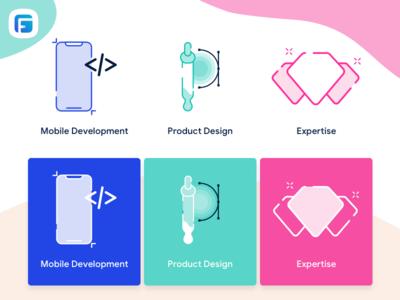 Custom icons for Family Finances ✨ desktop web design finance branding illustration mobile app design fintech startup ui illustrator icons custom