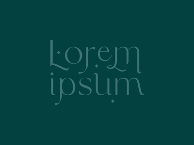 lorem ipsum simple diamond star boho vector hand lettering lockup branding logo typography graphic design illustration lettering design