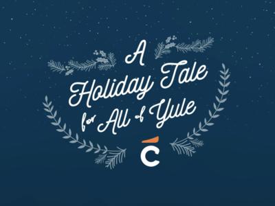 A Holiday Tale Digital Holiday Card