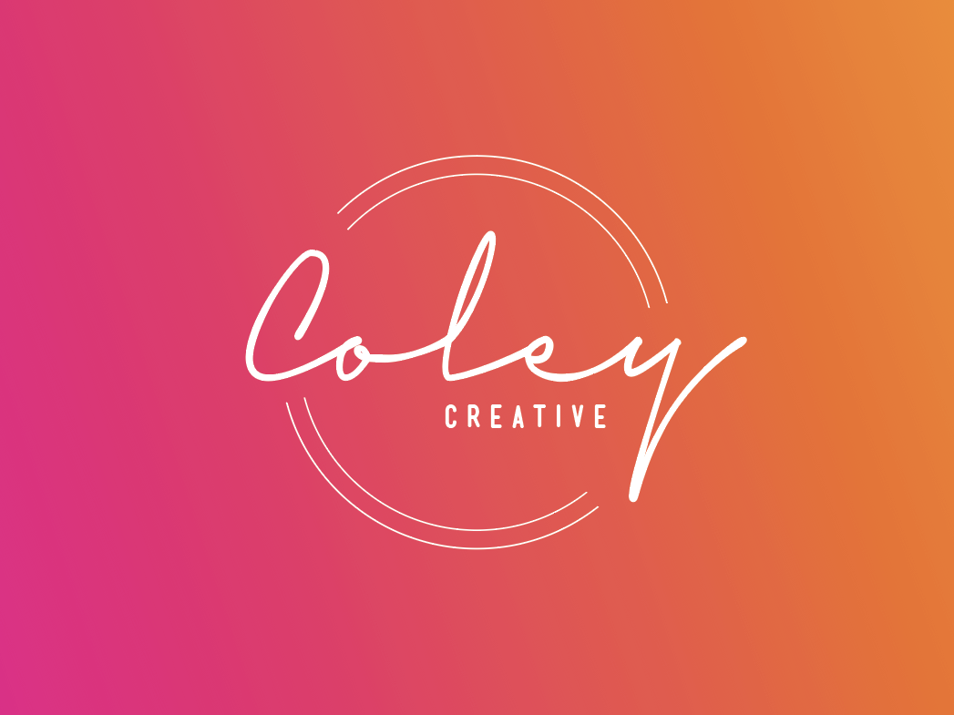 Coley Creative Logo Concept 1 art font vector typography lettering illustration lockup hand lettering branding logo graphic design design