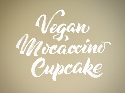 Vegan Mocaccino Cupcake