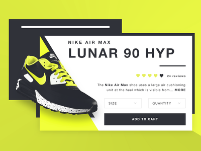 NIKE Air Max Lunar 90 HYP - Product card