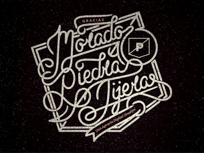 L for Love - Thank You typography love l you thank agency work prpl spanish morado