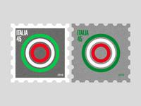 Italia post stamps