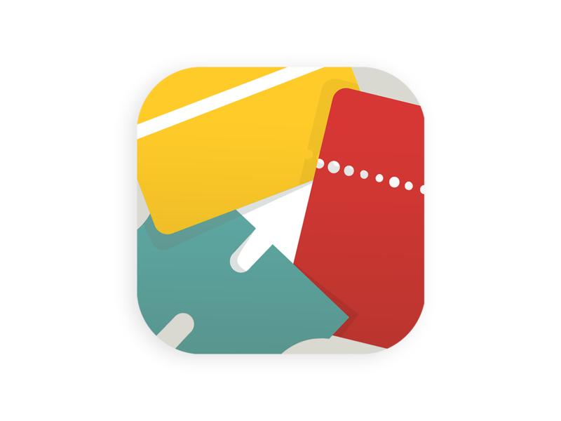 Pass4Wallet Icon cards coupon ticket wallet ios icon app app icon