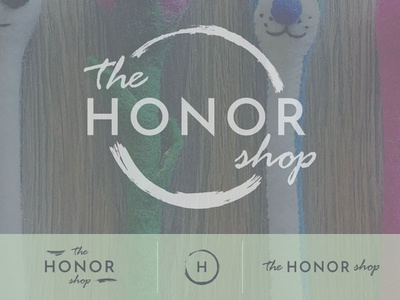 The Honor Shop Branding