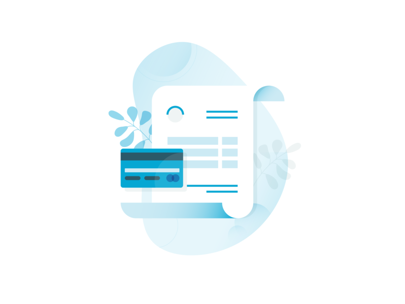Invoices document payment icon invoice illustration vector design ui