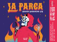 La Parca Label Design