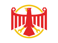 German inspired eagle