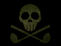Skull And Crossed Clubs