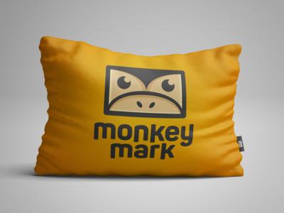 Monkey Mark | Pillow