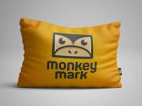 Monkey Mark   Pillow