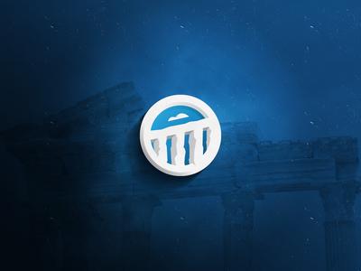 Ancient architecture | Aqueduct logo concept