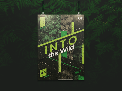 Into the Wild | poster design
