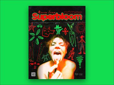"""Ashton Irwin """"Superbloom"""" promo poster poster design 5sos promo poster music print album superbloom"""