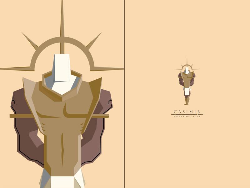 Casimir, Prince of Light prophet prince highwall swordandsandal characterdesign