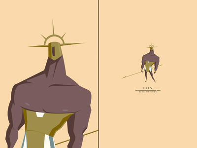 Eos, King of Gods swordandsandal warrior king gods characterdesign