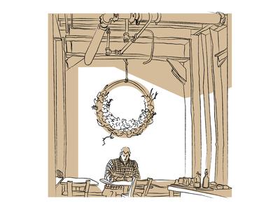 Coffee Shop Sketch 4