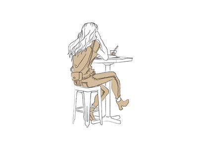 Coffee Shop Sketch 7