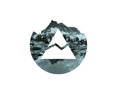 The Cairn Project - Sticker Variation cairn project blue sticker logo mountain